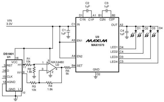 what must todo max1573 white led driver schematic. Black Bedroom Furniture Sets. Home Design Ideas