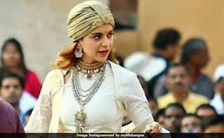 Kangana Ranaut Rani Laxmibai Look From Manikarnika Sets