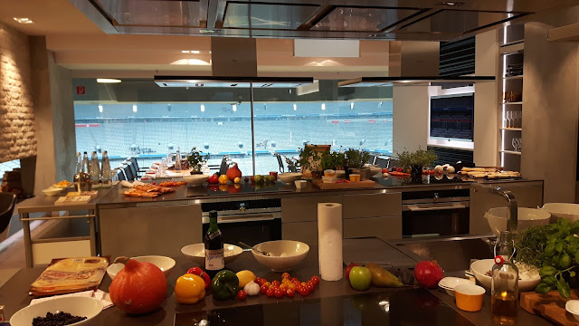 Siemens Cooking Lounge in der AllianzArena