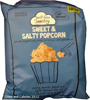 M&S Guilt Free Snacking Sweet & Salty Popcorn