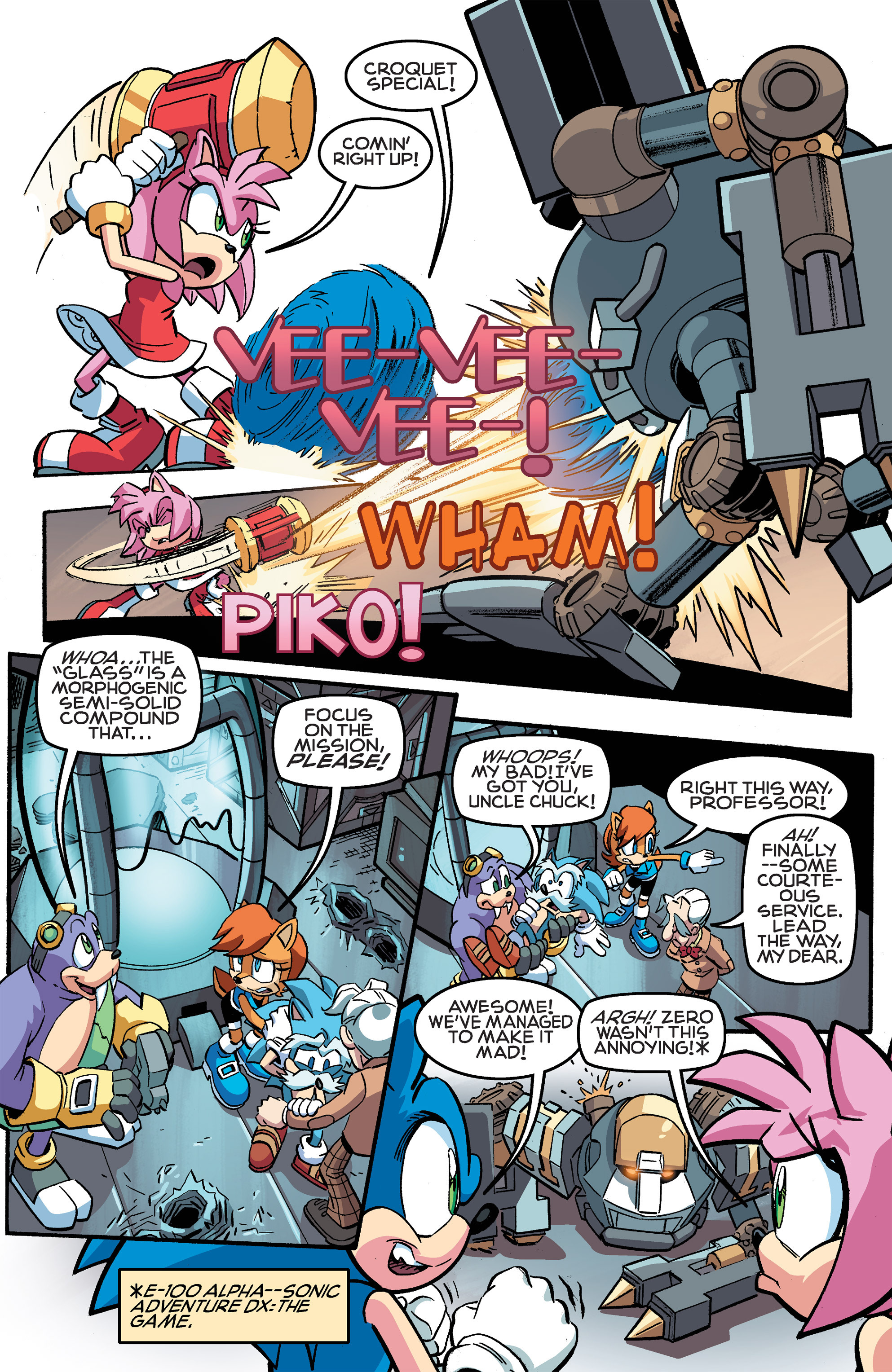Read online Sonic The Hedgehog comic -  Issue #259 - 10
