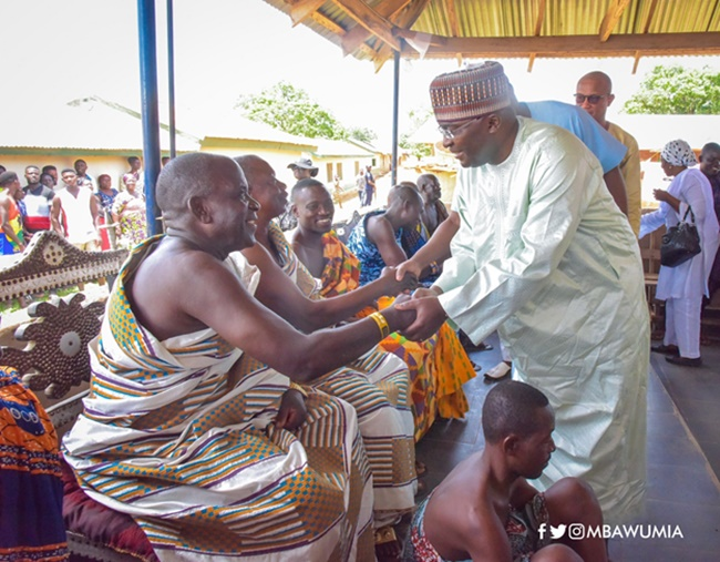 We Will Thank Akufo-Addo And NPP With Our Votes In 2020 - Chief Of Dambai