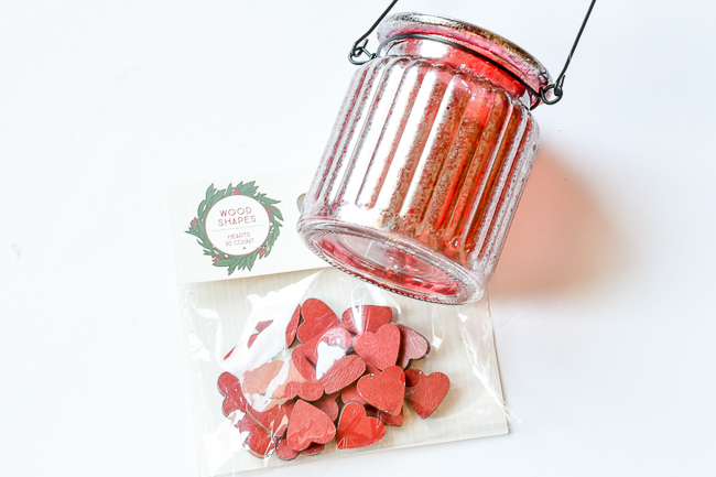 DIY Mercury glass and Valentine embellishments