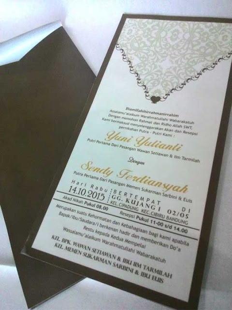 desain undangan elegan