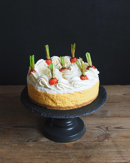 Cheesecake mousse de zanahoria (sin hornear)
