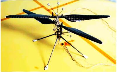 মঙ্গলে মিনি হেলিকপ্টারের জন্য সফল পরীক্ষা নাসার। Mars mini helicopter test successful for NASA.