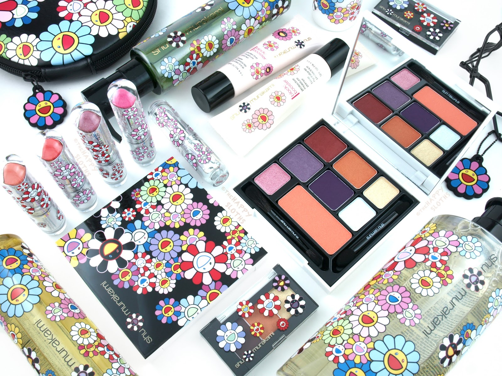 Shu Uemura Murakami Holiday 2016 Collection: Review and Swatches