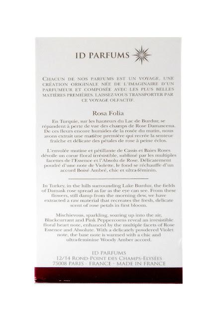 DR PIERRE RICAUD  Rosa Folia N2 Eau de Parfum