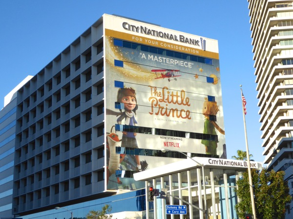 Little Prince giant consideration billboard