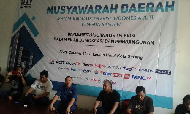 27 Oktober IJTI Akan Menggelar Musda di Ledian Hotel Kota Serang