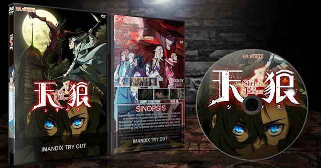 Tenrou: Sirius the Jaeger | Cover DVD |