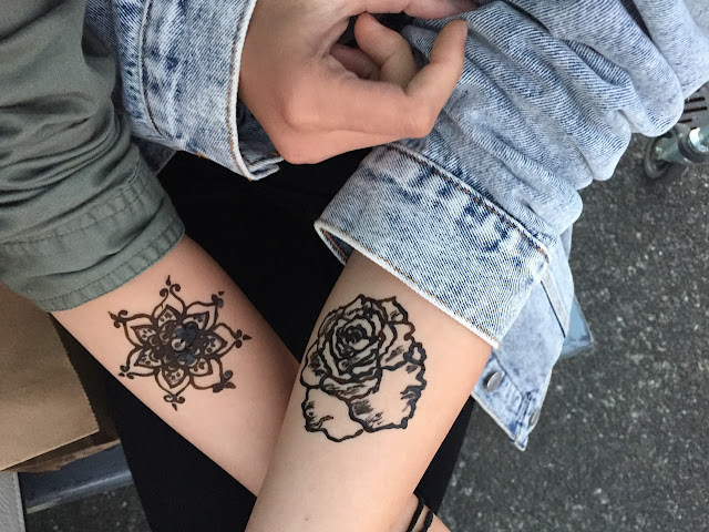 Beautiful Floral Tattoo Designs For Girls