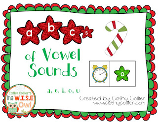 December Ready-made centers. Day 8: Vowel Sounds.