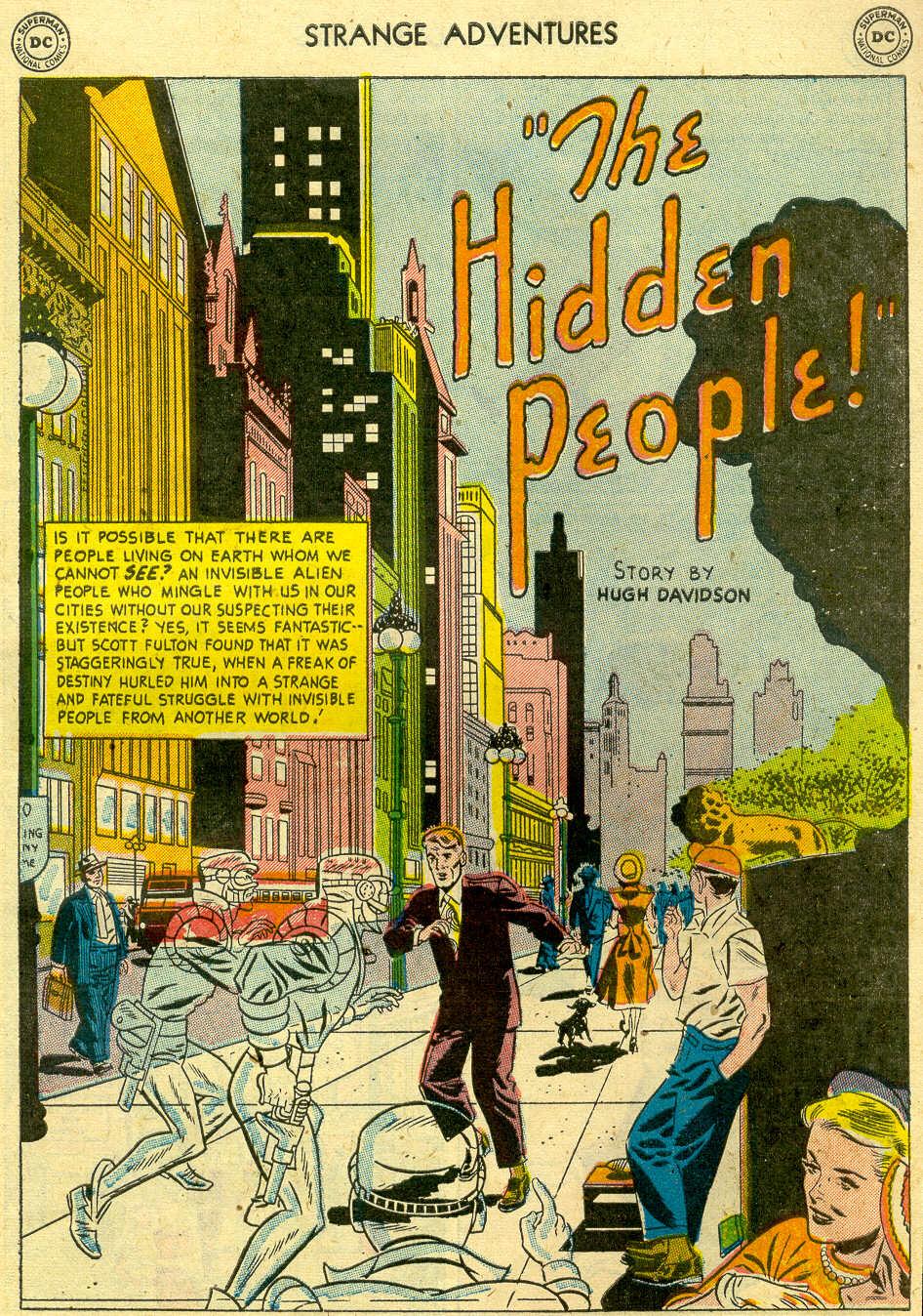 Strange Adventures (1950) issue 13 - Page 33