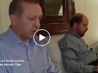 Masya Allah... Merdunya Suara Presiden Erdogan Tilawah Al-Quran