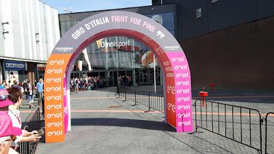Giro d' Italia poort