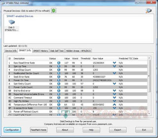 DiskCheckup download- to get hard disk smart info