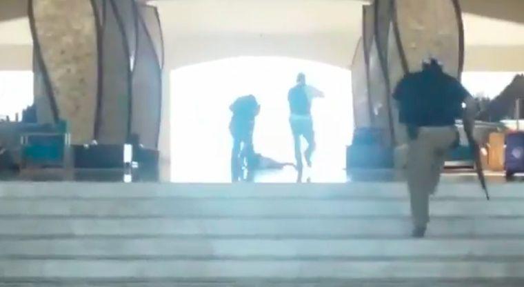 VIDEO Así se vivió la balacera en San José del Cabo