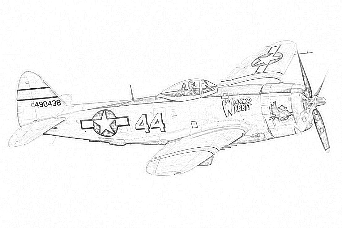 coloring page world war ii fighter coloringfilminspectorcom