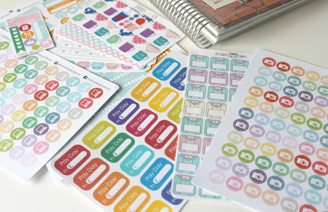 A picture of UK Etsy Life Planner Stickers