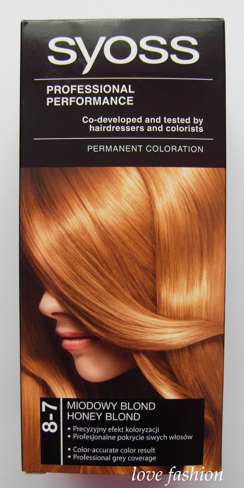 Farbydo Włos 243 W Syoss Miodowy Blond Honey Blond