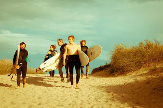 Surfing and camping in Cornwall