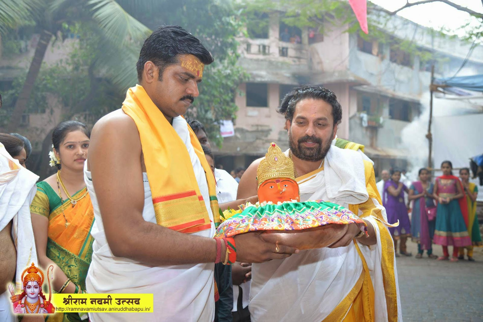 arraival of renuka mata on raam navami