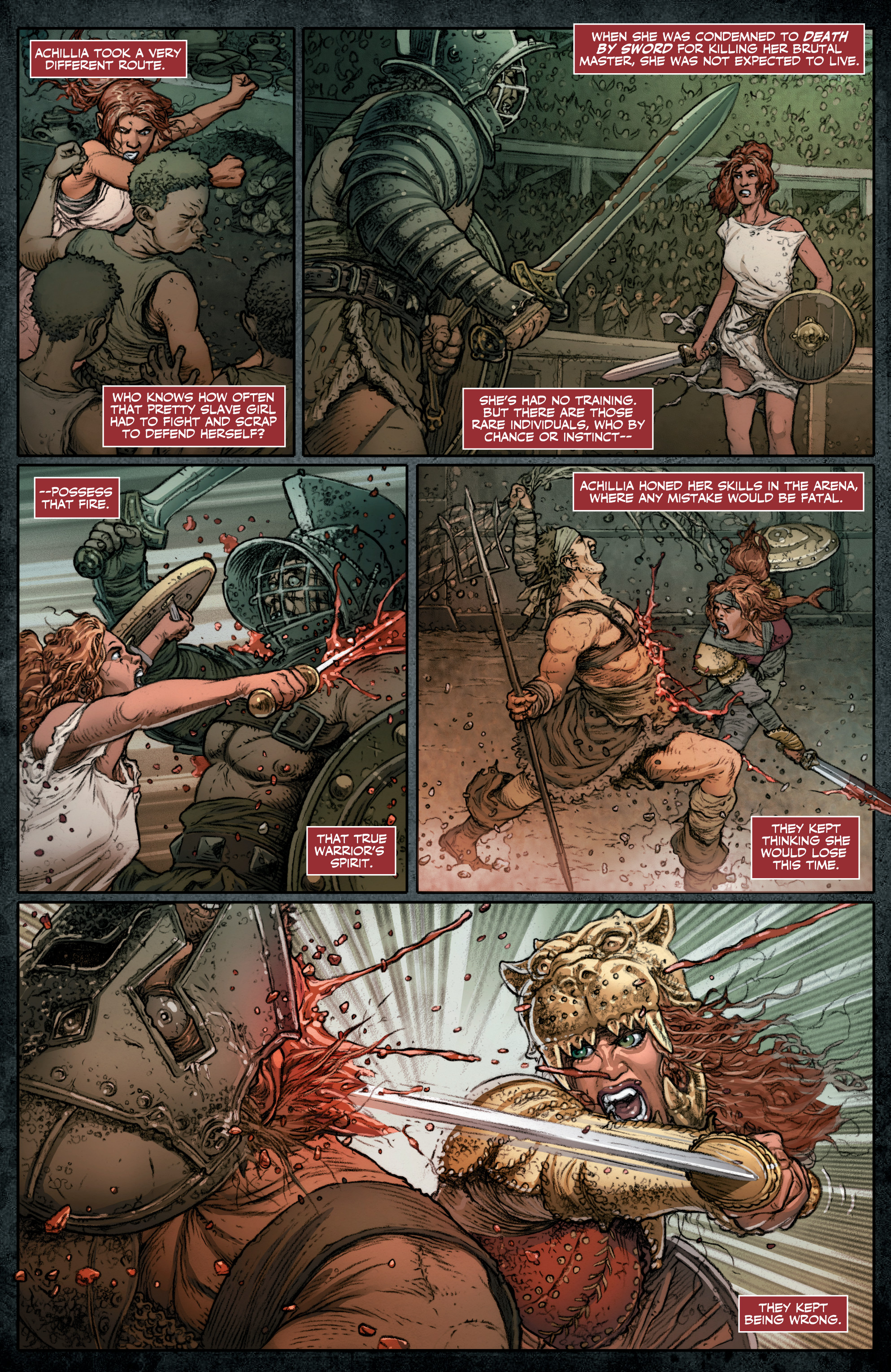 Read online Britannia: We Who Are About To Die comic -  Issue #3 - 7