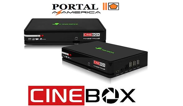 Resultado de imagem para CINEBOX MAESTRO HD PORTAL AZAMERICA