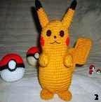 Pikachu, Pokemon, Amigurumi, Patron, Gratis
