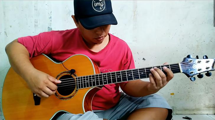 alip ba ta finger style guitar