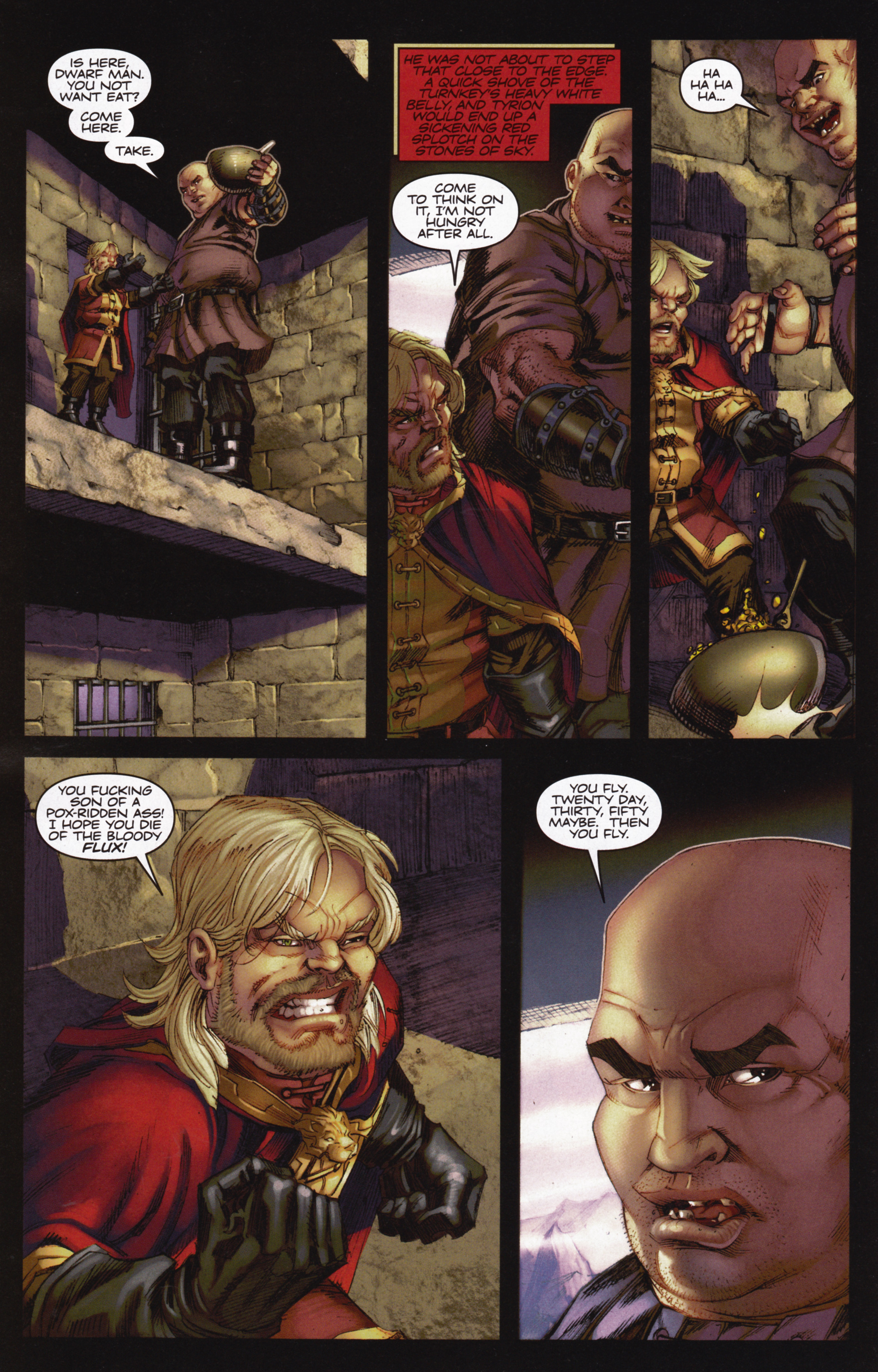 Read online A Game Of Thrones comic -  Issue #12 - 18