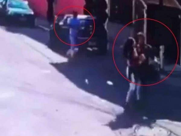 Con perro y pistola roban en menos de 30 segundos bolsa a joven en la CDMX