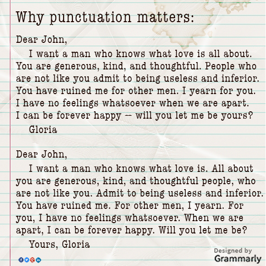 dear john letter punctuation - photo #2
