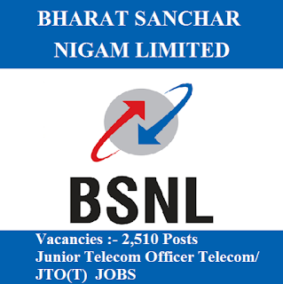 Bharat Sanchar Nigam Limited, BSNL, JTO, Junior Telecom Officer, freejobalert, Sarkari Naukri, Latest Jobs, Hot Jobs, Graduation, bsnl logo