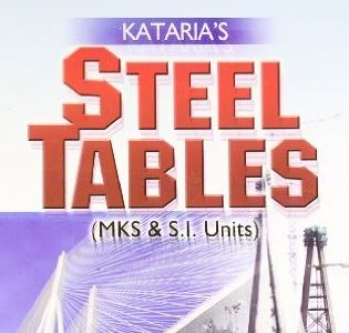 indian standard steel table pdf download