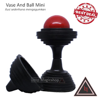 Jual alat sulap vase and ball