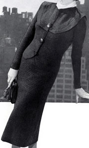 The Vintage Pattern Files : Free 1930's Knitting Pattern - Waldorf 2 Piece Suit Pattern