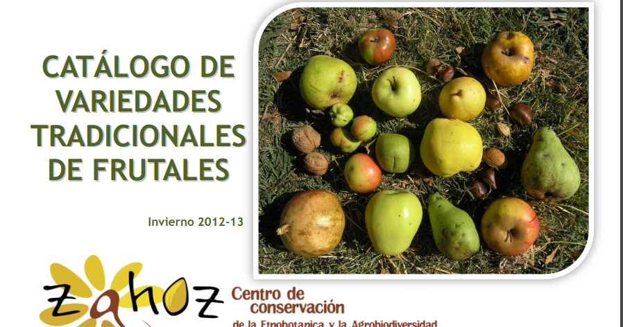 Libros catalogo de variedades tradicionales de frutales for Viveros frutales pdf
