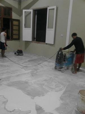 Jasa pasang poles Lantai Marmer