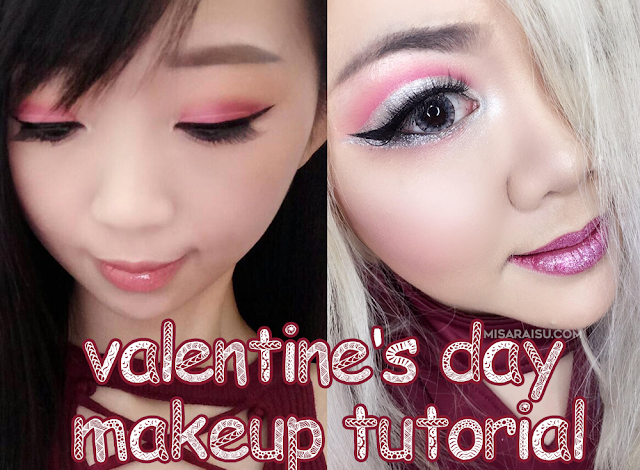 valentine day makeup tutorial