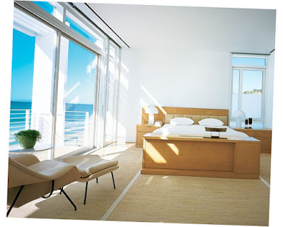Beach House Bedrooms Simple With Large Window Good Preview for Outdoor Picture 006