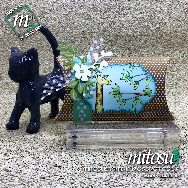 Stampin' Up! Animal Outing with Blended Seasons Bundle Gift Idea. Order supplies from Mitosu Crafts UK Online Shop