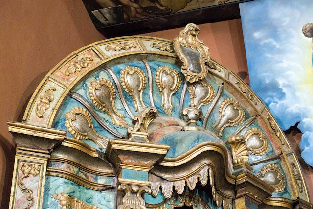 Altares retábulos da primeira matriz de Curitiba