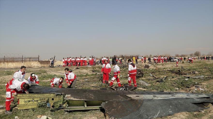 """Irán: Avión ucraniano fue derribado """"de forma no intencional"""""""