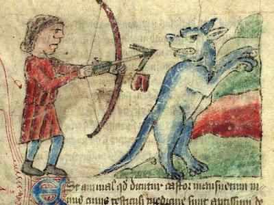 El arquero y el castor: Un vapuleo del siglo XV