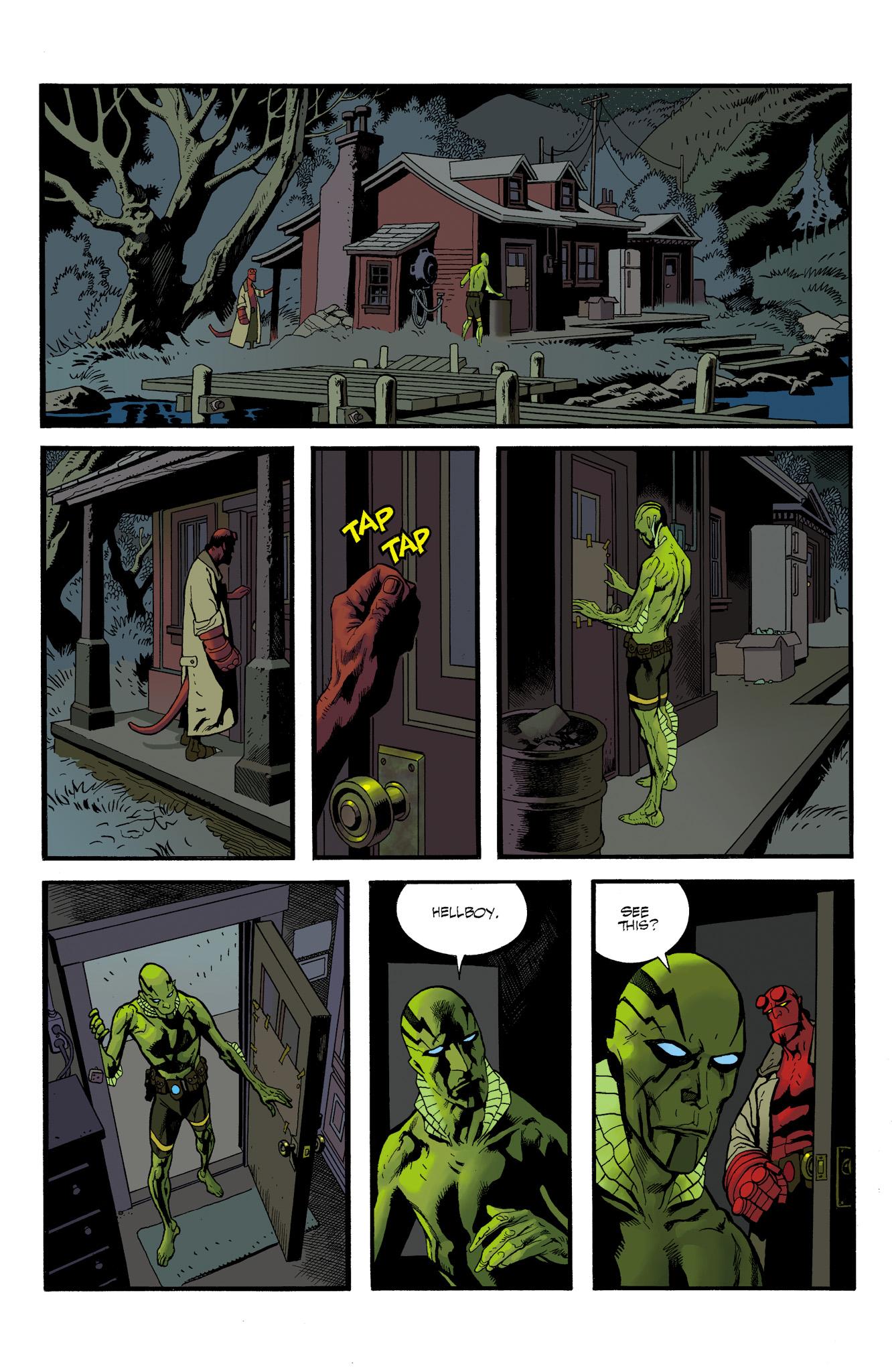 Read online Abe Sapien comic -  Issue #23 - 17