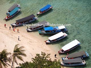 paket tour wisata hopping island belitung