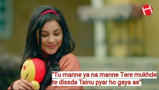 Punjabi Best Romantic Lyrics For Status, Punjabi Song Lyrics Status