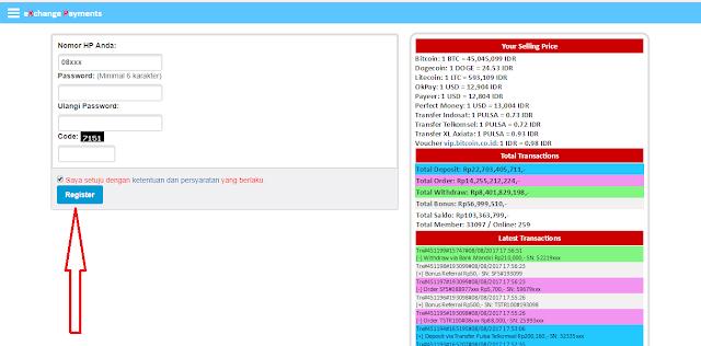 Cara daftar disitus Xp.Sindonesia.net